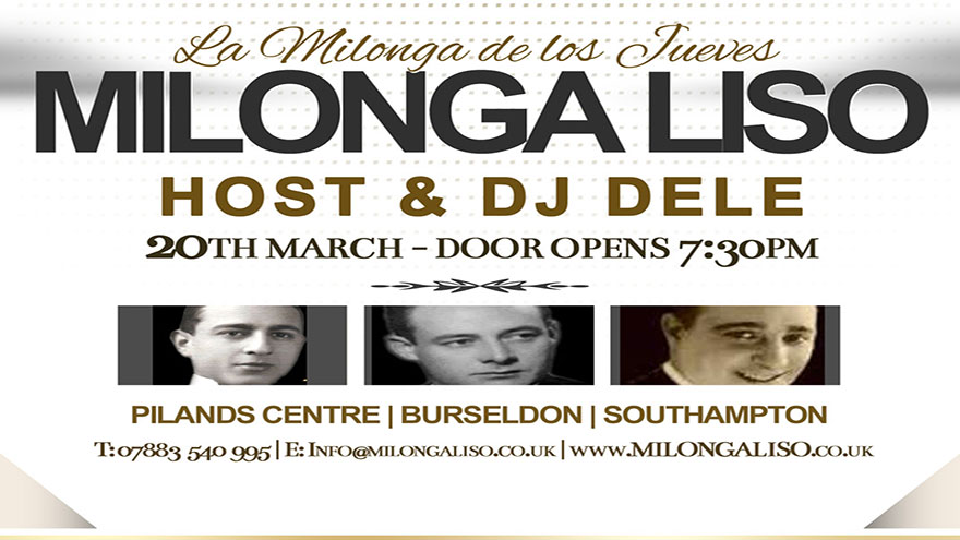 Milonga Liso - 20 MAR                     2014