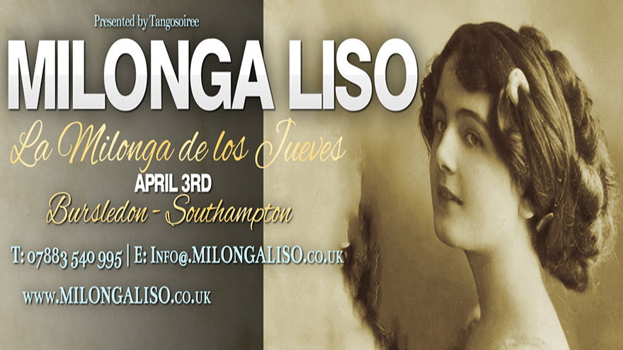 Milonga Liso - 3 APR                     2014