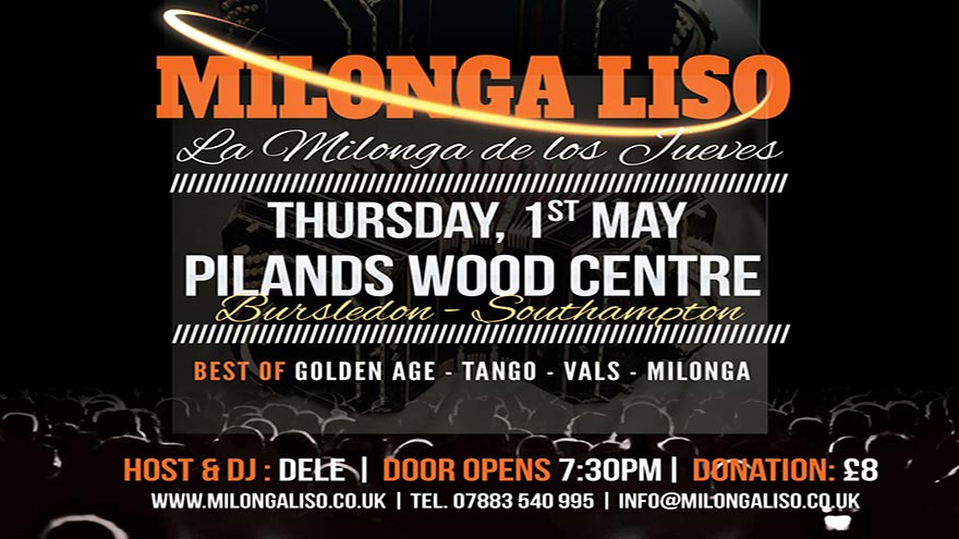 Milonga Liso - 1 MAY                     2014