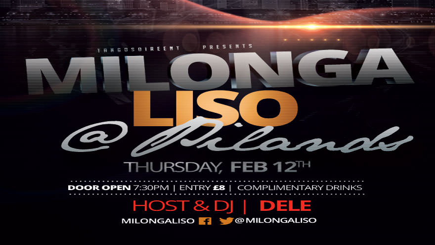 Milongaliso at Pilands, Thursday, Mar 12th